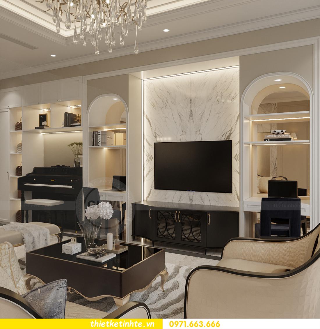 Thiết kế nội thất biệt thự Sao Biển 02-29 Ocean Park căn 90m2 7