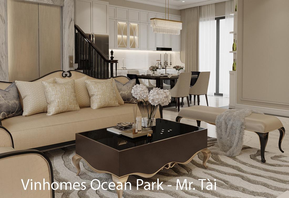 Thiết kế nội thất biệt thự Sao Biển 02 – 29 OCean Park căn 90m2