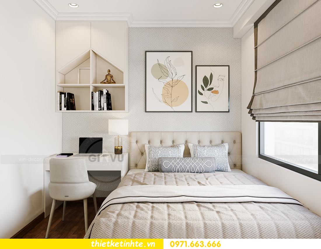 thiết kế nội thất căn hộ 2 ngủ hiện đại tại Vinhomes DCapitale 11
