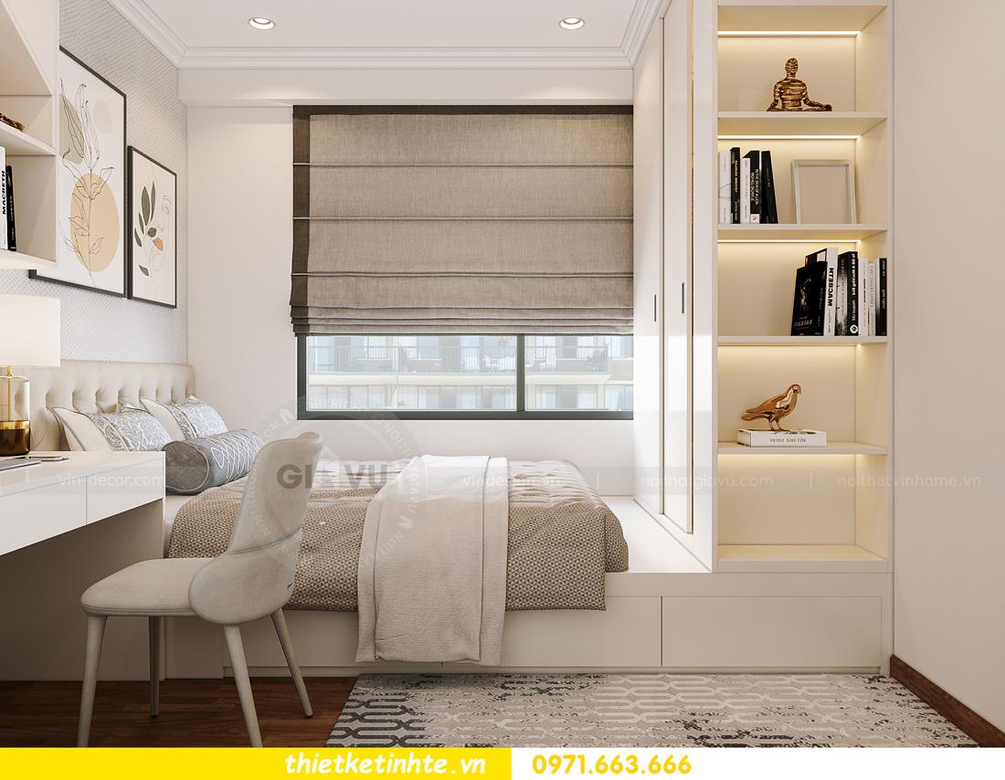thiết kế nội thất căn hộ 2 ngủ hiện đại tại Vinhomes DCapitale 12