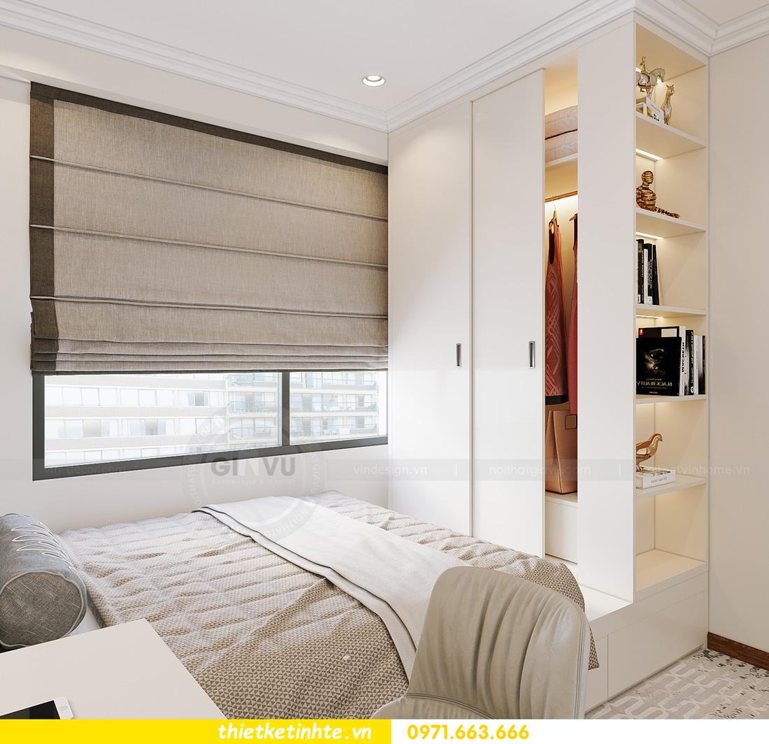 thiết kế nội thất căn hộ 2 ngủ hiện đại tại Vinhomes DCapitale 13