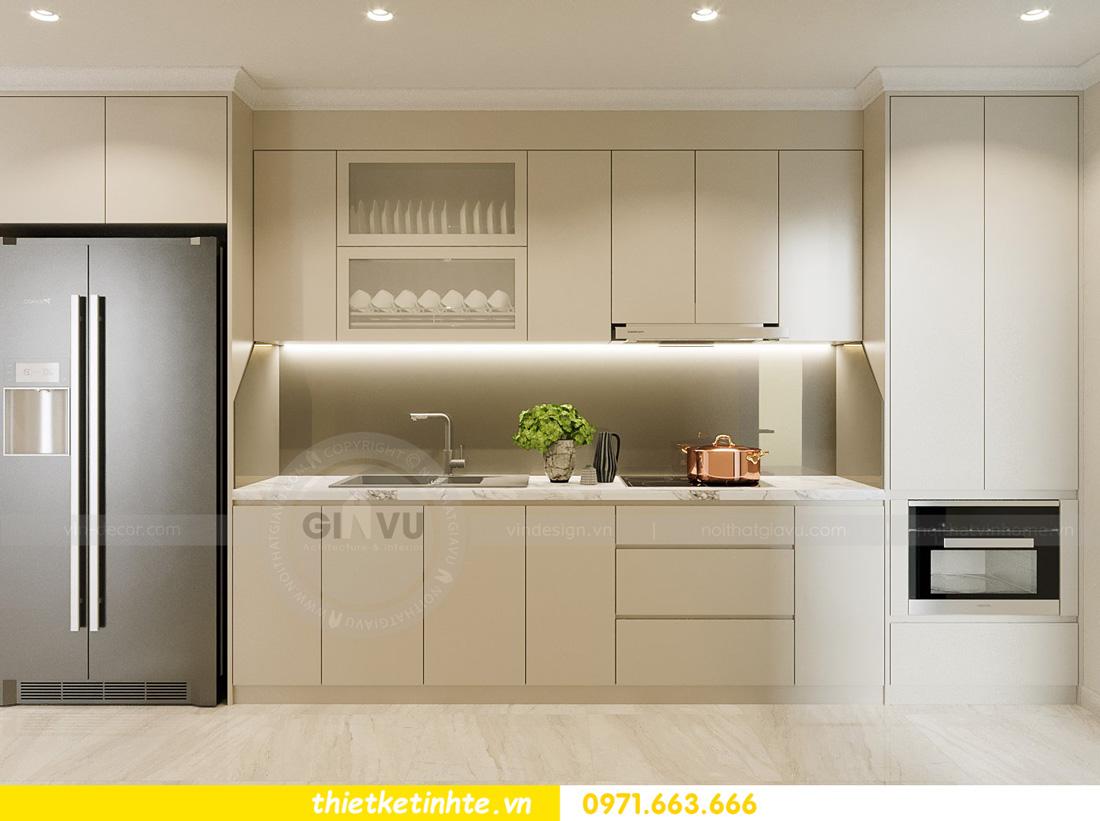 thiết kế nội thất căn hộ 2 ngủ hiện đại tại Vinhomes DCapitale 3