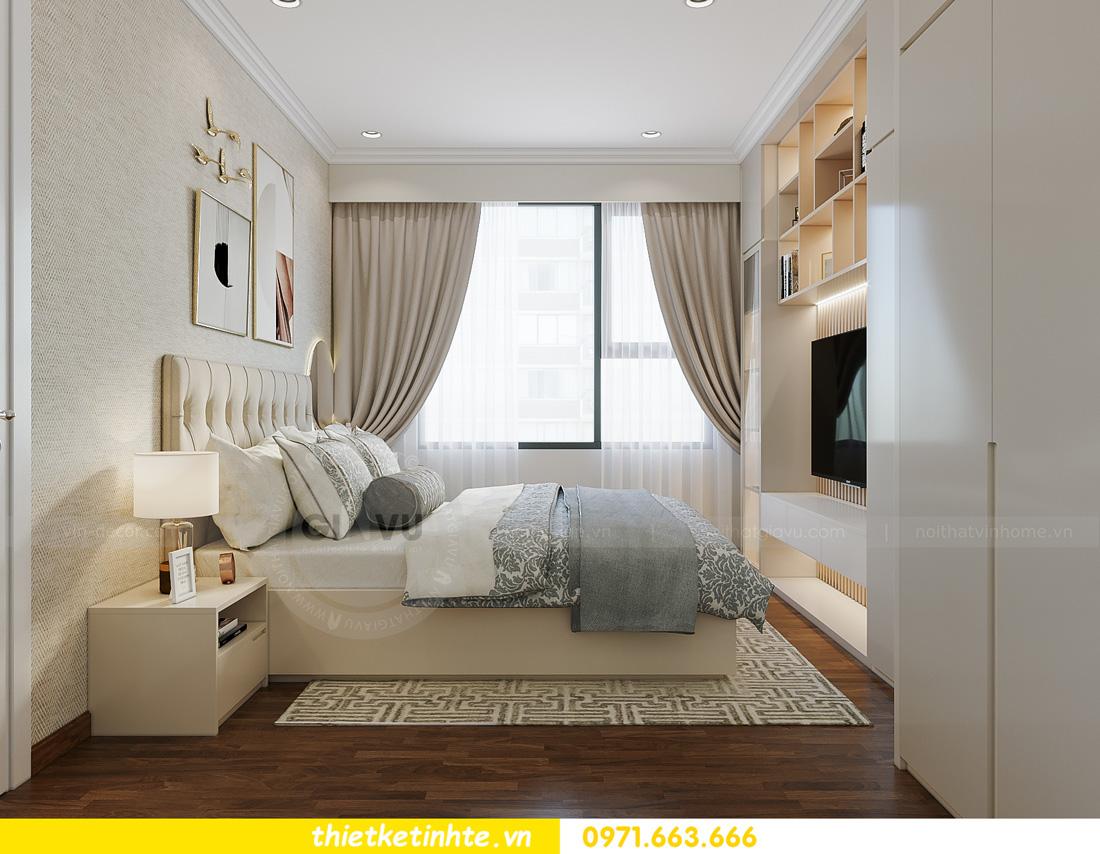 thiết kế nội thất căn hộ 2 ngủ hiện đại tại Vinhomes DCapitale 8