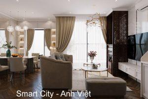 Thiết Kế Nội Thất Căn Hộ Tòa S103 Vinhomes Smart City