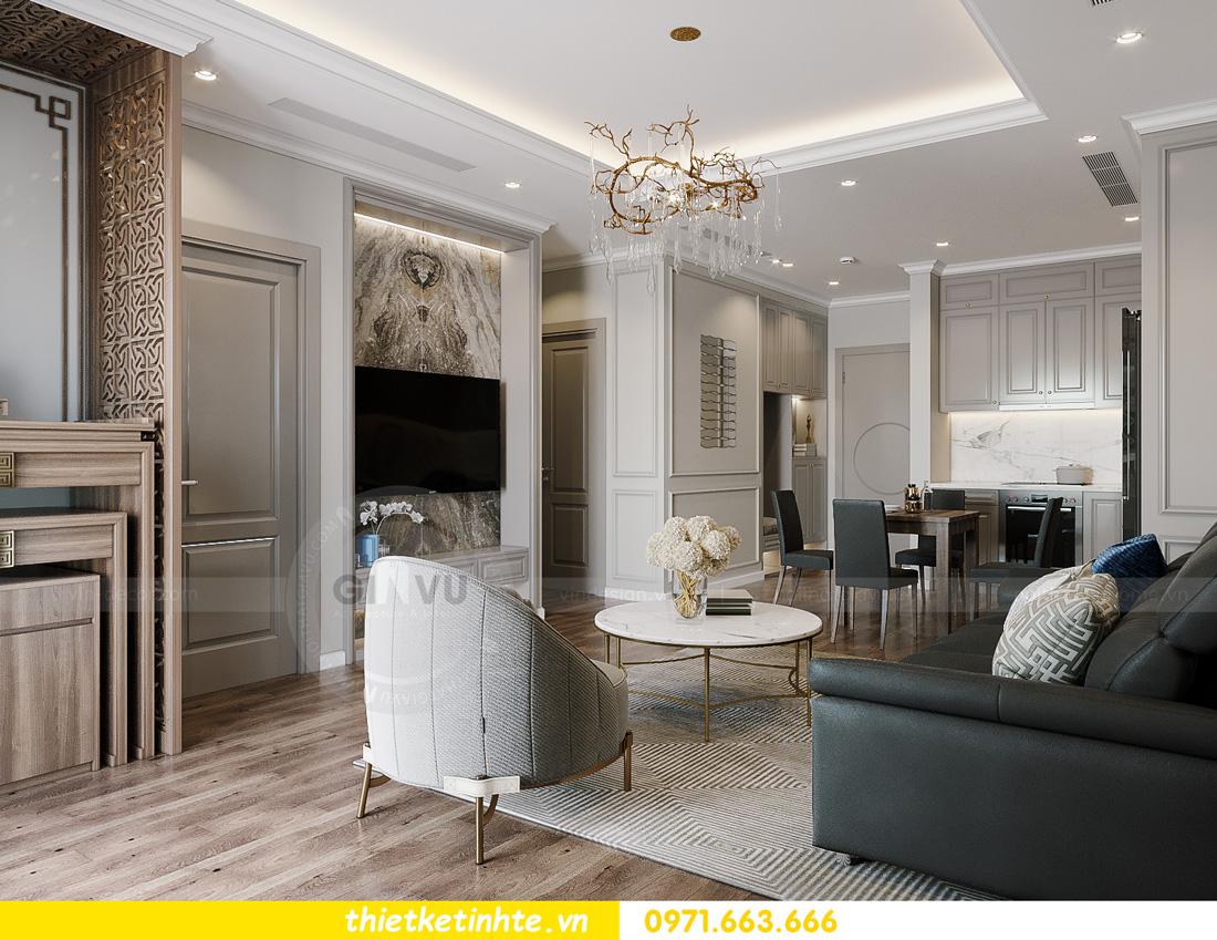 thiết kế nội thất tòa S401 chung cư Vinhomes Smart City 3