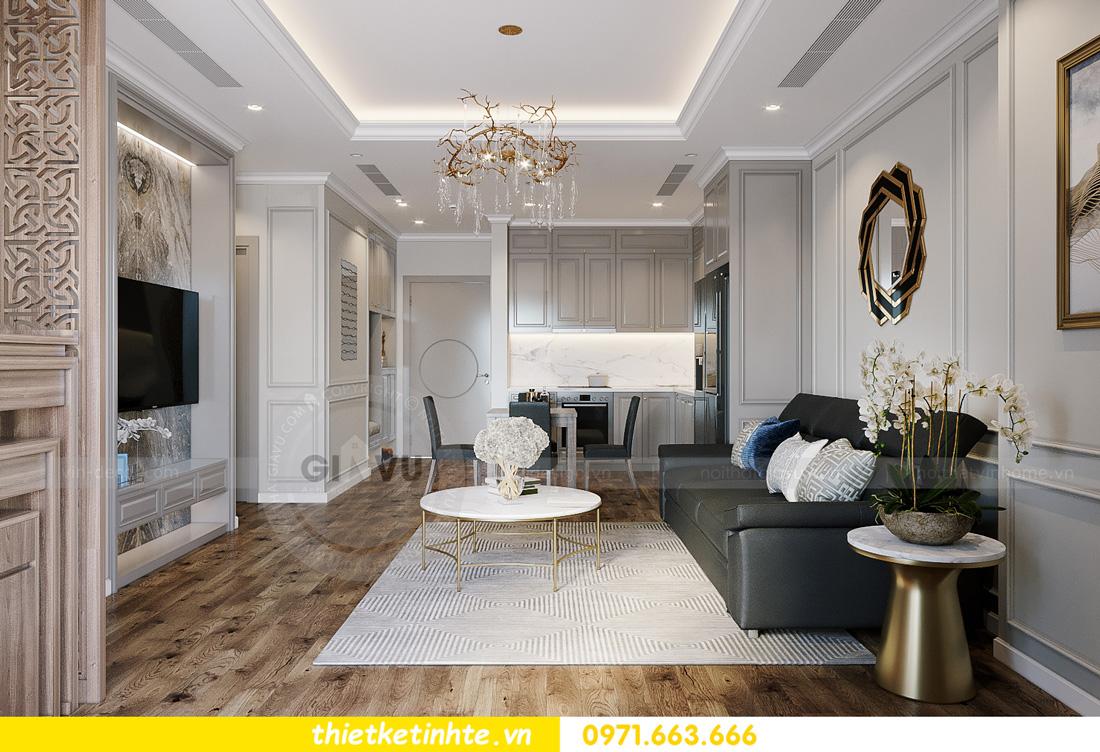thiết kế nội thất tòa S401 chung cư Vinhomes Smart City 4