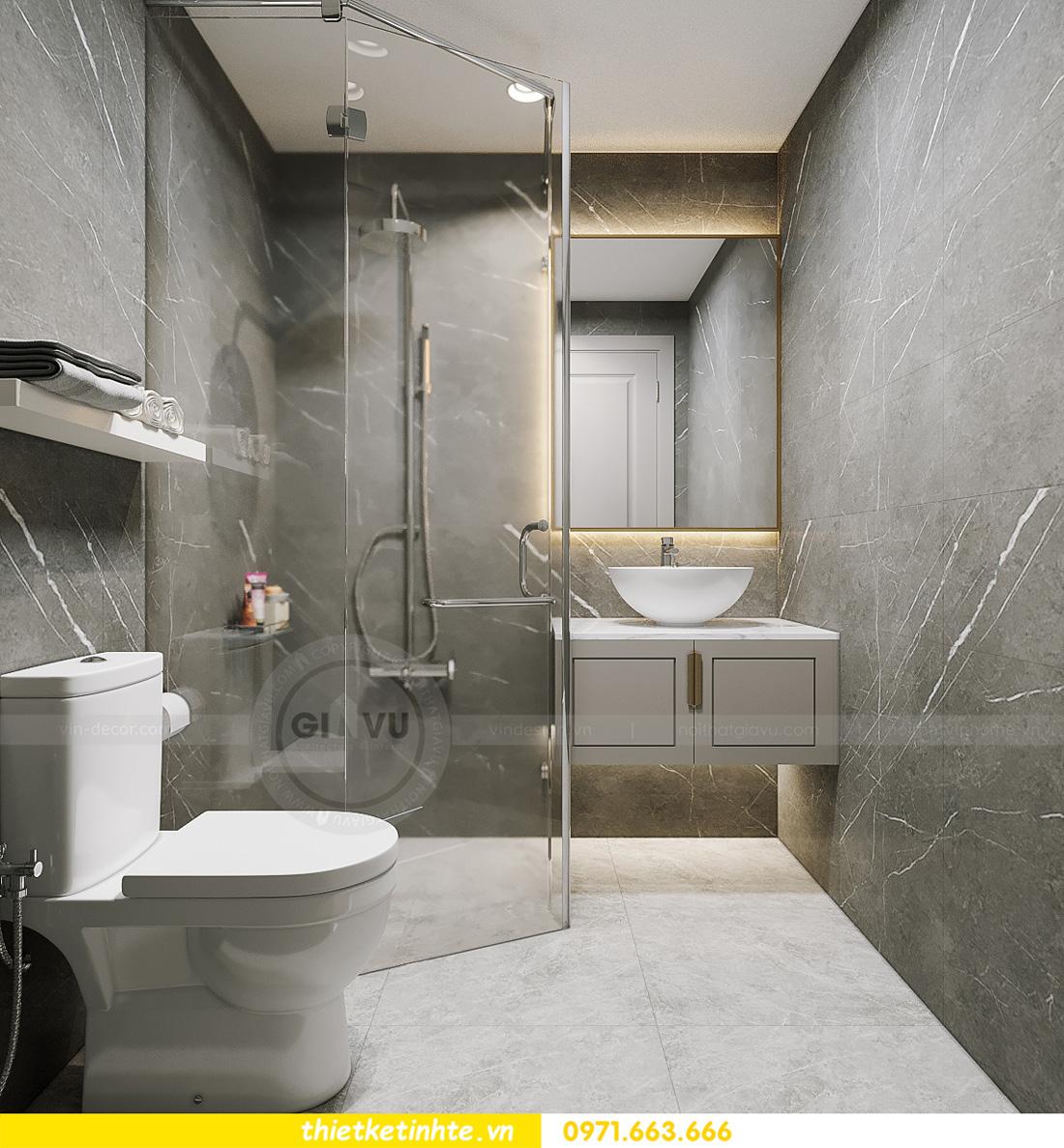 thiết kế nội thất tòa S401 chung cư Vinhomes Smart City 6