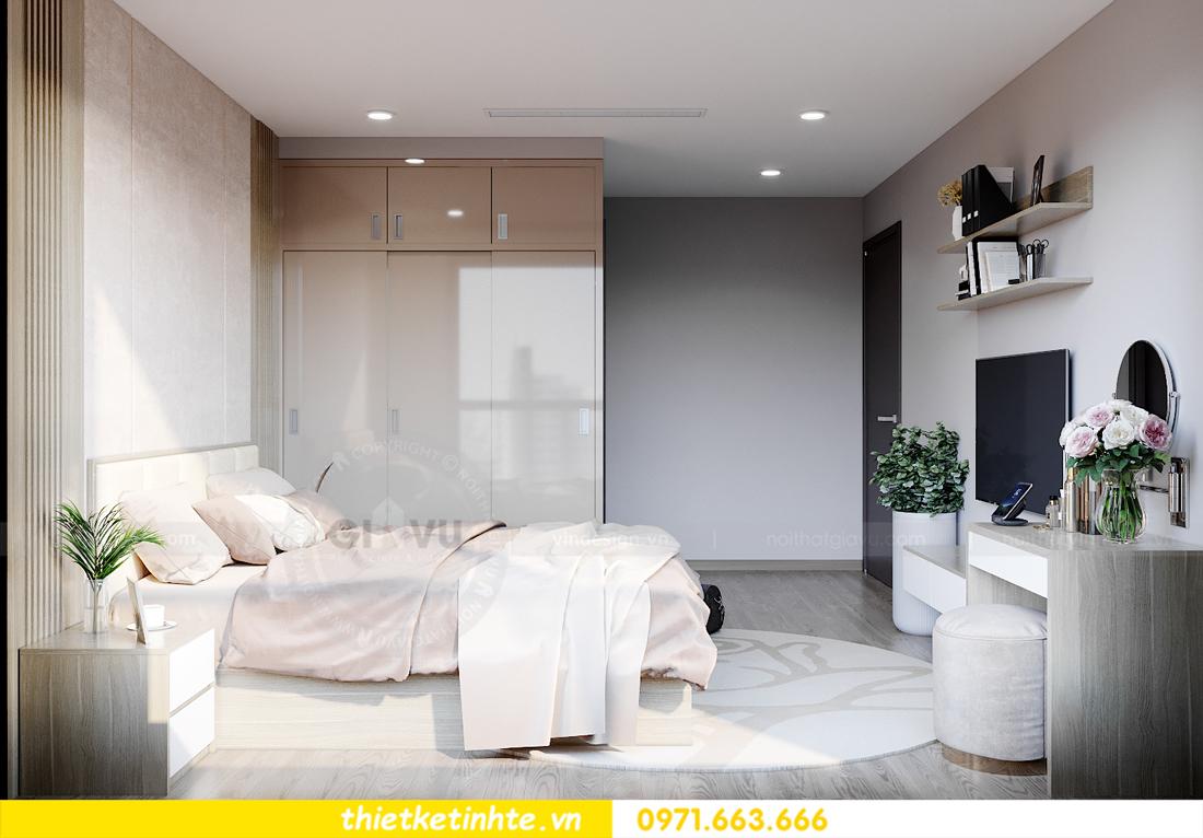 thiết kế nội thất tòa S401 chung cư Vinhomes Smart City 8